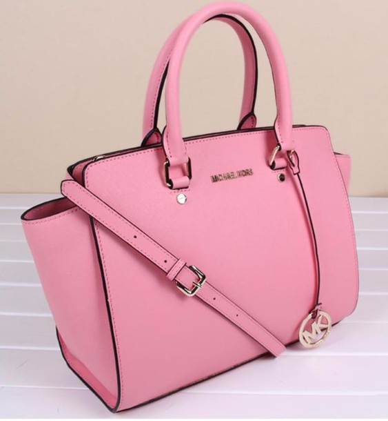 Bag Michael Kors Soft Pink Purse Wheretoget