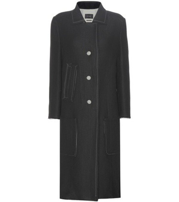 Isabel Marant Wool-blend Coat in black