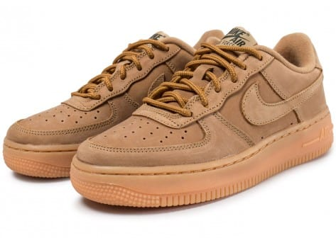 22df80771828 Nike Air Force 1 Winter Premium GS Flax