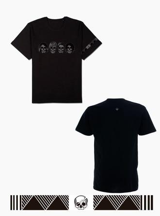 t-shirt black one ok rock black t-shirt skull skull t-shirt band t-shirt band merch japan grunge t-shirt grunge pastel goth tumblr tumblr girl tumblr clothes