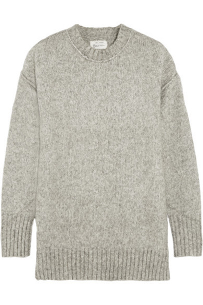 R13 - Oversized Knitted Sweater - Charcoal