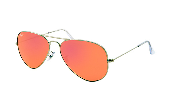 Ray-Ban RB3025 019/Z2 58-14 Aviator Flash Lenses  Sunglasses | Ray-Ban USA