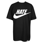 t-shirt,shirt,hate,stay cold apparel,nike,swoosh