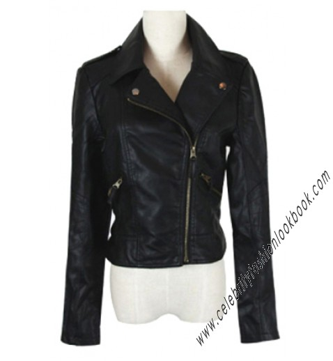 Biker Faux leather Jacket - Leather Jackets - Outerwear - Clothing