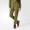 Adidas regular cuffed track pants - green | adidas australia