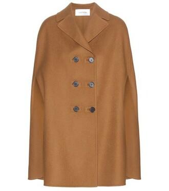 cape wool brown top