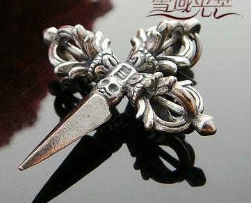 Handmade Tibetan Jewelry Tibetan Dorje Pendant - Wishbop.com
