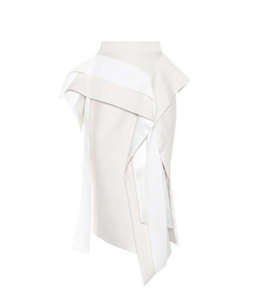 MATICEVSKI skirt pencil skirt white