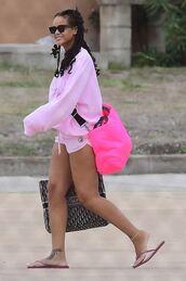 bag,pink,rihanna