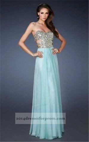 La Femme 18602 Seafoam Rhinestones Cut Out Prom Dresses [seafoam long prom dresses] - $153.00 : Cheap Sequin Prom Dresses2014,Online Tailored Prom Dresses Shop,Homecoming Dresses Cheap