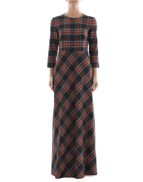 Parosh dress wool multicolor