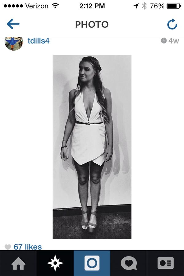 wrap dress white dress plunge v neck v neck dress plunge neckline