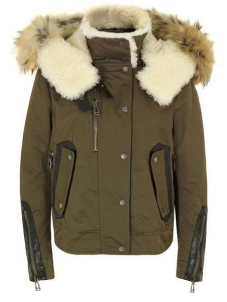 coat parka Khaki coat