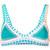 Kiini - Liv bikini top - women - Nylon/Polyester/Spandex/Elastane - S, Blue, Nylon/Polyester/Spandex/Elastane