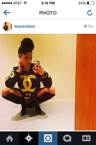 unisex leauxsteez coco chanel pullover sweater