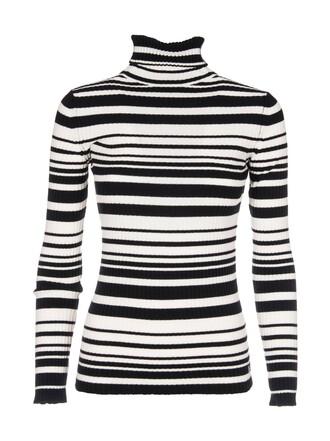 jumper turtleneck striped turtleneck sweater