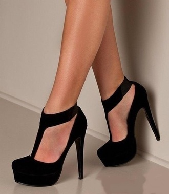shoes black black heels black pumps black heels with strap cute black heels black high heels