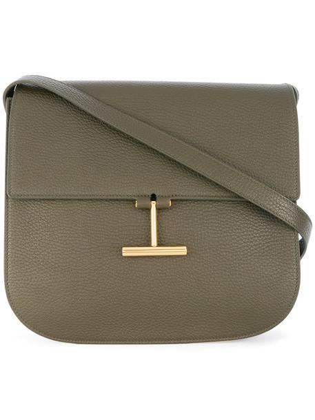 Tom Ford women bag shoulder bag cotton green