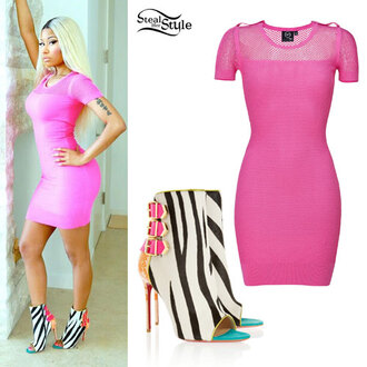 shoes nicki minaj jacket dress
