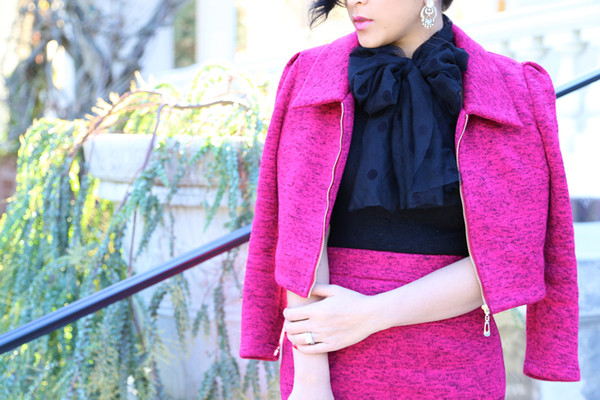 ktr style jacket skirt shoes bag scarf jewels