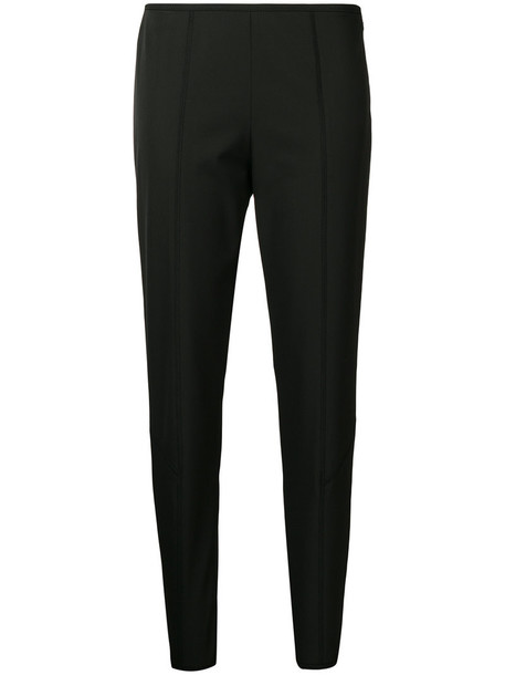 Prada women spandex fit black pants