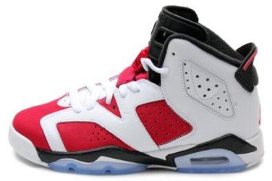 "Amazon.com: Nike Air Jordan 6 VI Retro (GS) ""Olympic"" Boys Basketball Shoes 384665-130: Shoes"