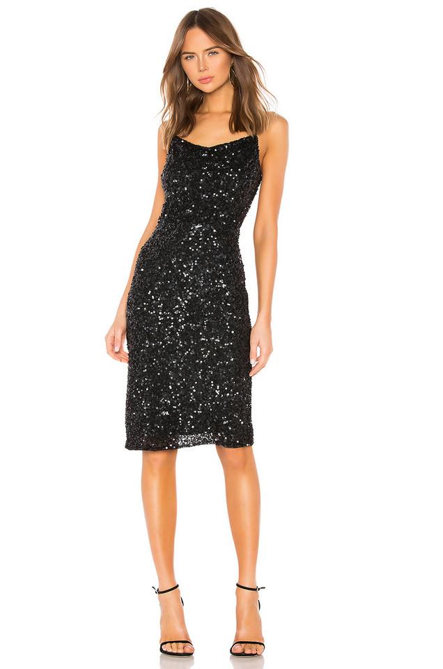 Parker Black Leighton Dress in black