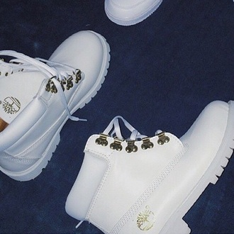 shoes whitetimberlands timberlands boots white shoes timberland