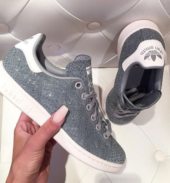 new products fe4bb 4b963 adidas Stan Smith Shoes - Grey | adidas US