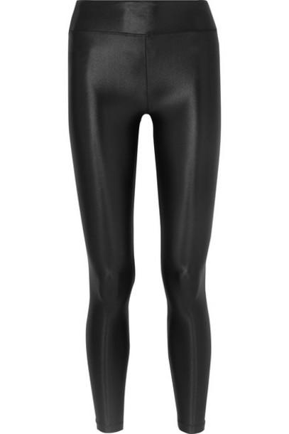 Koral - Lustrous Stretch Leggings - Black
