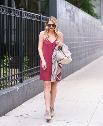 visions of vogue blogger dress shoes cardigan bag sunglasses mini dress button up dress booties fall outfits