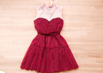 ball gown homecoming dress prom dress party dress tulle skirt burgundy dreses