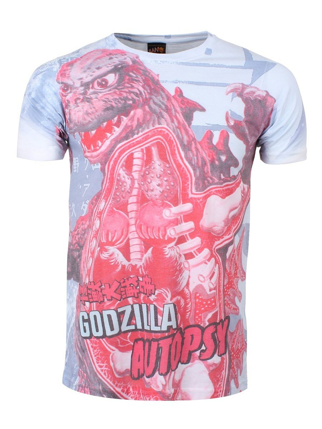 Amazon.com: godzilla men's autopsy all over print t