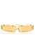 Angular-frame acetate sunglasses