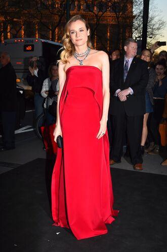 dress gown red dress diane kruger prom dress