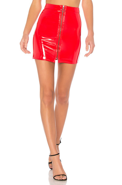 NBD skirt red