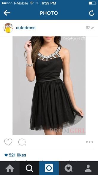 dress black dress glitter glitter dress