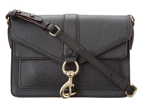 Rebecca Minkoff Hudson Moto Mini Black 5 - Zappos.com Free Shipping BOTH Ways