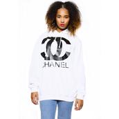 sweater,cc,cc sweatshirt,cc shirt,cc hoodie,cc hoody,chanel t-shirt,chanel,chanel style jacket,white cc chanel hoodie,cc chanel hoody,cheryl cole,cc chanel hoodie,chanel hoody,coco chanel sweater
