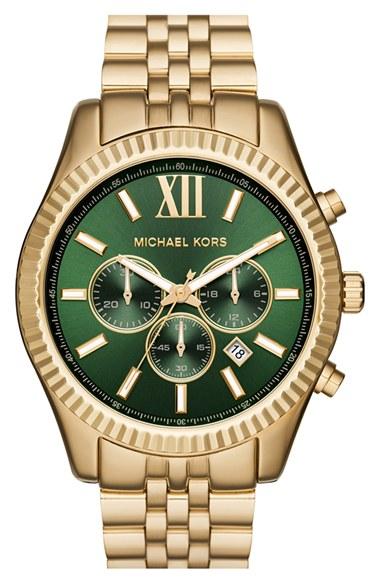e1d914a521b9 MICHAEL Michael Kors  Lexington  Chronograph Bracelet Watch