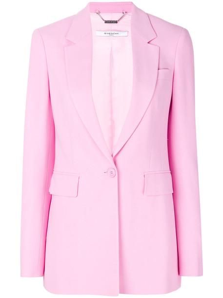 Givenchy blazer women classic spandex purple pink jacket