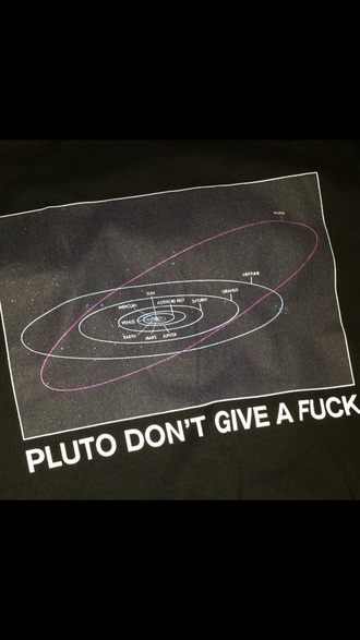 shirt space planets pluto orbit