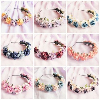 hair accessory flowers festival crown flower crown wedding floral crown white festival hair hair accessories festival accessorie floral crown chic accessories