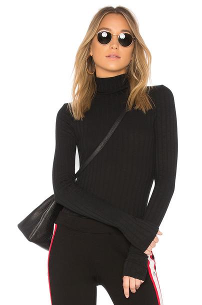 Pam & Gela turtleneck black sweater