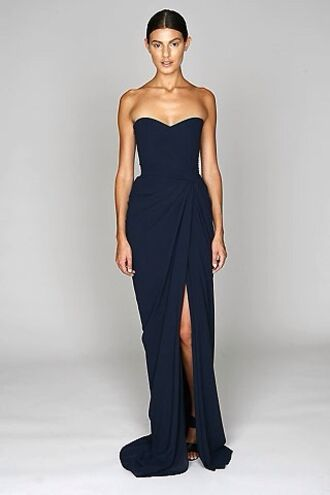 dress navy navy dress maxi dress prom dress long prom dress maxi wrap wrap dress party dress