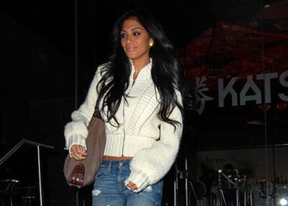 jacket clothes white white jacket pullover white pullover nicole scherzinger winter sweater winter outfits autumn autumn outfit winterwear fluffy fluffy white jacket white fluffy