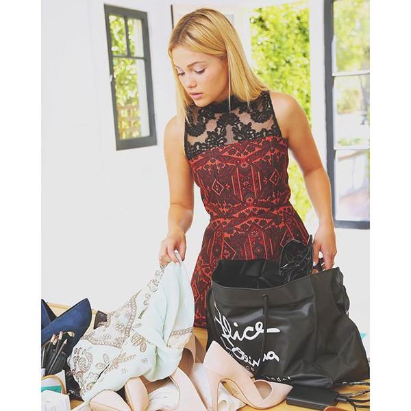 Nikki Strapless Bell Dress   Alice Olivia