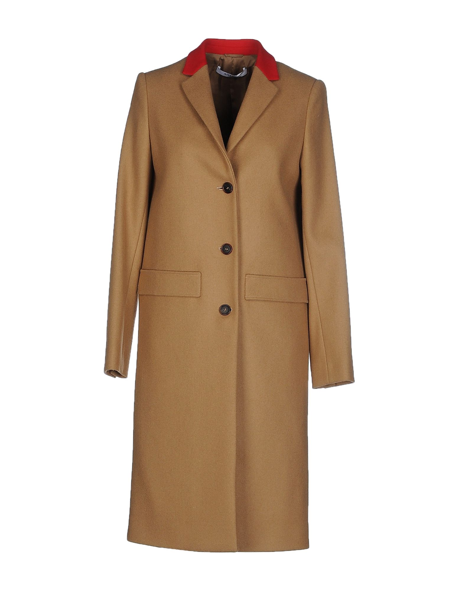 Givenchy Coat - Women Givenchy Coats online on YOOX United ... d96447e85ae92