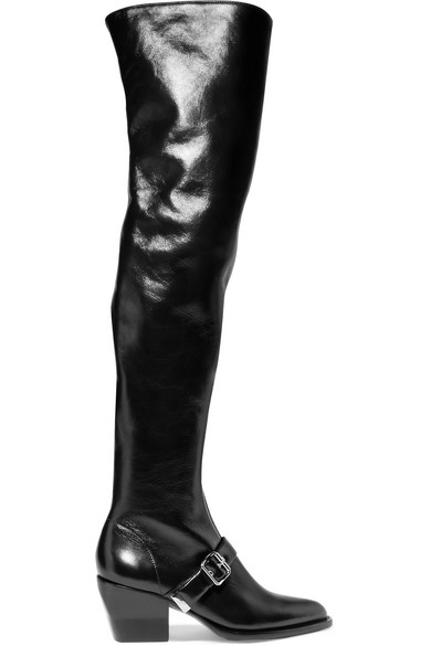 Chloé - Rylee leather over-the-knee boots
