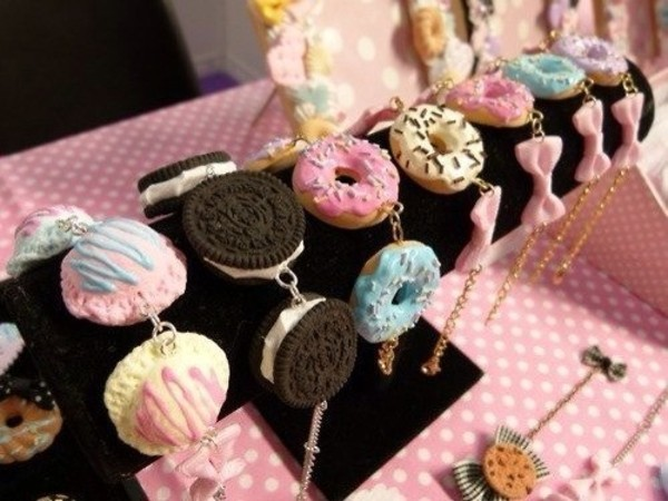 jewels sweets pastel
